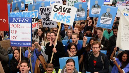 Junior doctors will be on strike today