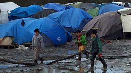 Pictures from volunteer Mary Mc Williams of the Jungle camp in Calais