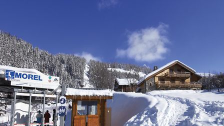Chalet Club Pierre is right next to a ski lift