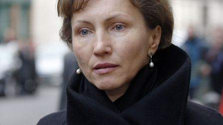 Marina Litvinenko outside the Royal Courts of Justice. Picture: Jonathan Brady/PA Wire