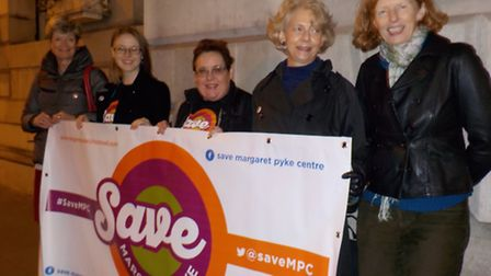 Protests over plans to close the Margaret Pyke Centre