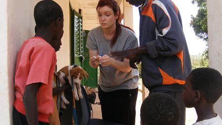 Sarah Hut in the Gambia