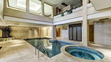 A one-bedroom flat in St John's Wood with two swimming pools sold for £830,000