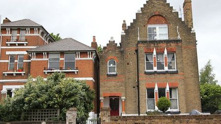 A flat in the Spaced house in Tufnell Park was let for £460 per week