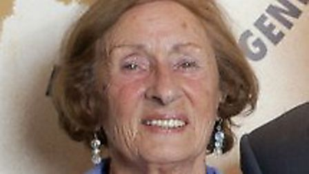 Susan Pollack was awarded a MBE. Picture: Holocaust Educational Trust