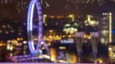 The London Sky Bar will offer incredible views of the Mayor's fireworks on New Year's Eve