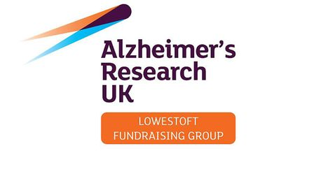 Alzheimer's Research UK Lowestoft Fundraising Group logo.