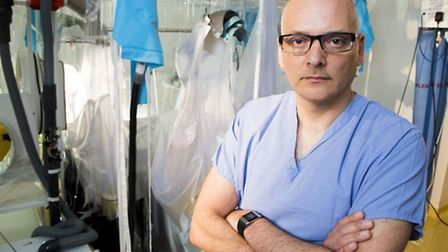 Dr Michael Jacobs of the Royal Free Hospital. Picture: David C Bishop