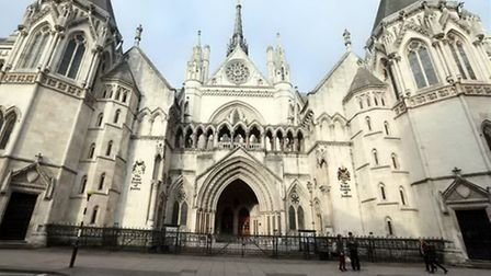 Royal Courts of Justice. Picture: Steve Parsons/PA Wire