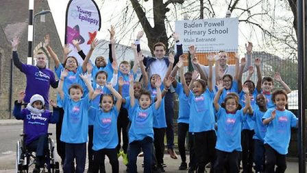 Youngsters from Baden Powell Primary School have signed up for the Run Hackney Half Marathon Schools