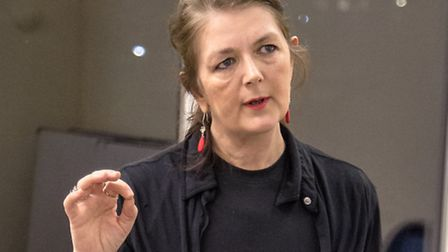 Sophie Wright in the Vagina Monologues (Picture: Peter Jones)