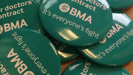 Doctors are in dispute over imposed contract changes