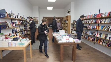 Burley Fisher Books (Picture: Isabel Infantes)