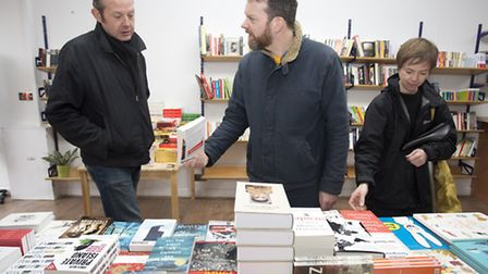 Burley Fisher Books was officially opened on Friday (Picture: Isabel Infantes)