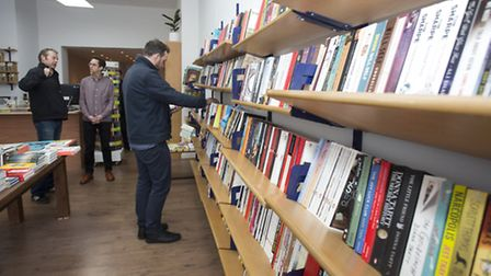 Burley Fisher Books is at 400, Kingsland Road in Haggerston (Picture: Isabel Infantes)