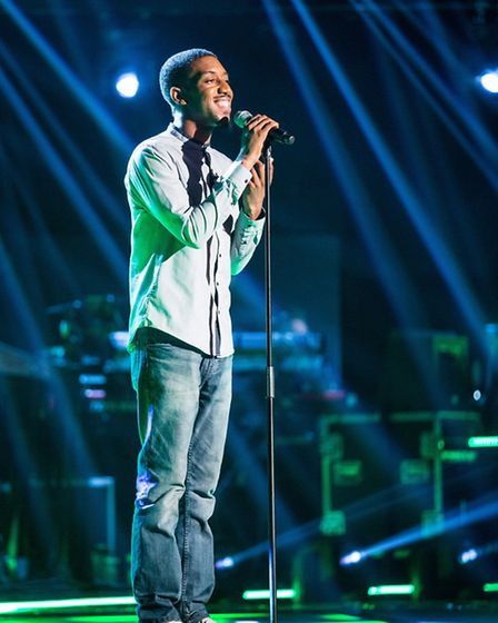 Theo Llewellyn on The Voice, photo from Wall to Wall, Guy Levy