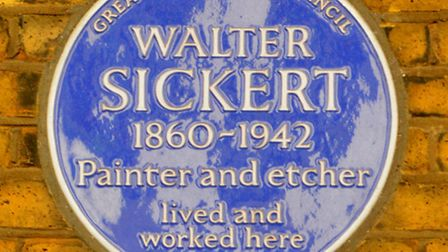 Camden Town Group artist Walter Sickert lived around Mornington Crescent and set many of his early 1