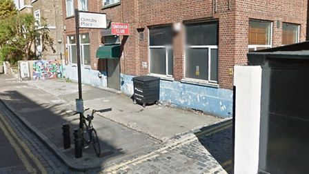 The crash happened in Victorian Grove, near the junction with Ormsby Place (Picture: Google StreetVi