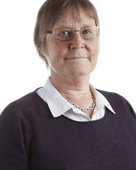 Cllr Ann Waters, cabinet member for children.