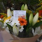 'RIP my lil bro': Heartbreaking messages at the scene of the crash (Picture: Ken Mears)