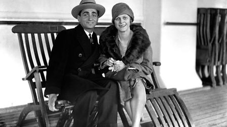 Irving Berlin, the American composer, with his wife Ellin Mackay. Picture: PA
