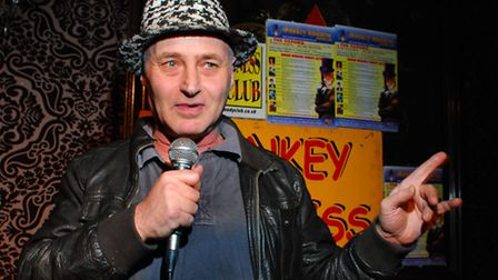 Monkey Business Comedy Club at The Oxford Arms. Pictured host and MC Martin Besserman. Picture: Poll