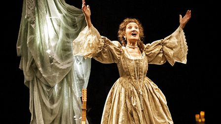 Elizabeth Mansfield in The Restoration of Nell Gwynn. Picture: Anthony Robling