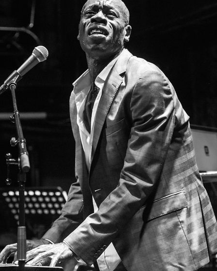 Soul singer Andrew Roachford performing at the Jazz Cafe's 25th anniversary event in December (Pictu