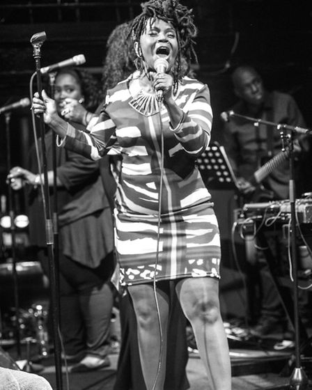 Soul singer PP Arnold performing at the Jazz Cafe's 25th anniversary event in December (Picture: Dav