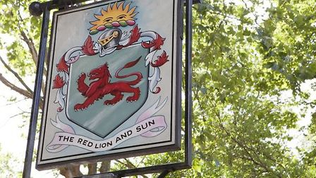 The Red Lion and Sun pub in Highgate
