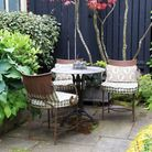 Careful planning and zoning is essential when designing a small urban garden