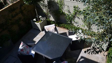 A small garden in London designed by Kate Gould