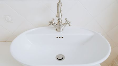 A sink with an old fashioned style tap. PA Photo/thinkstockphotos