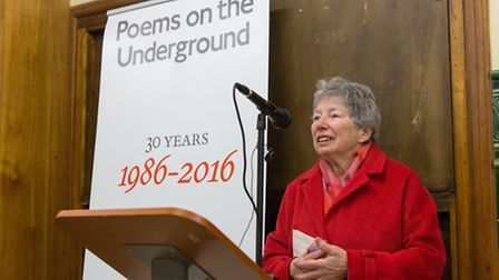 Judith Chernaik at Poems on the Underground