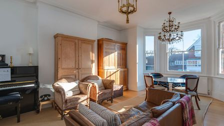 This period two-bedroom flat in Hampstead is for sale through Benham & Reeves for £1,000,000
