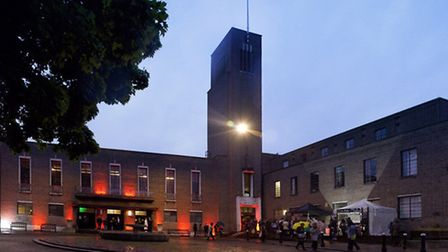 Hornsey Town Hall Arts Centre. Photo: Andrew McGibbon