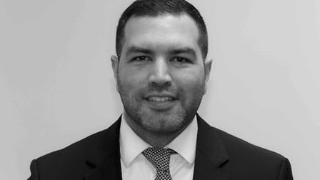Dinesh Mirchandani, branch manager Tatlers Crouch End