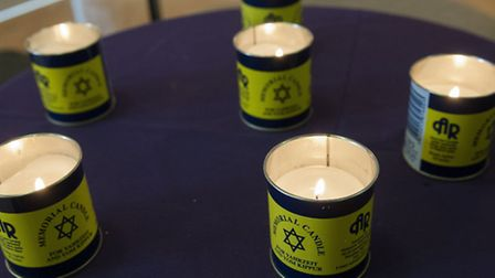 Holocaust Memorial Day 2015 at LJCC, FInchley Road
