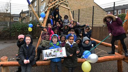 St John of Jerusalem CofE in Hackney are holding the official opening of their new playground