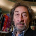 Howard Jacobson at Heath Library. Picture: Nigel Sutton