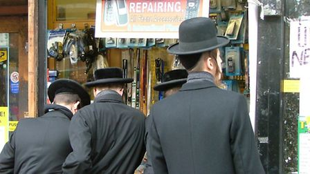 Orthodox Jewish men in Stamford Hill (Picture: dcaseyphoto/Flickr/Creative Commons licence CC BY 2.0