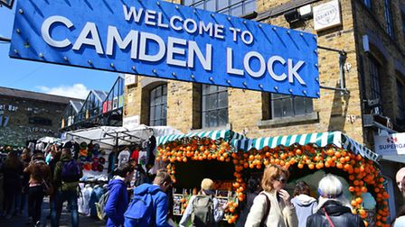 The men were fined for busking in Camden Town