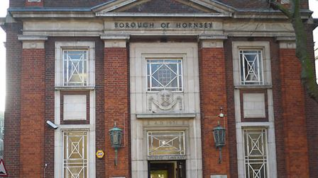 The future of Muswell Hill Library's home since 1931 is in question. Picture: Tony Gay