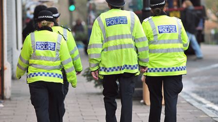 Sgt Alex Bloxham believes response figures can be kept up in 2016. PA images.