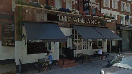 The Alliance in West Hampstead is to be sold