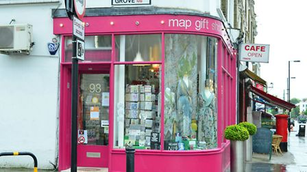 Map Gift Shop