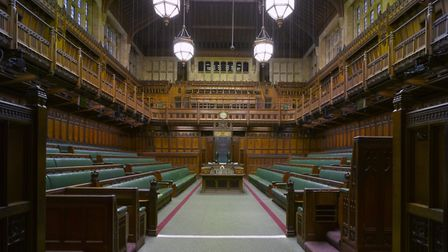 Exclusive photograph of all of those who love the Brexit deal in the Commons (Photo by Arcaid/UIG vi