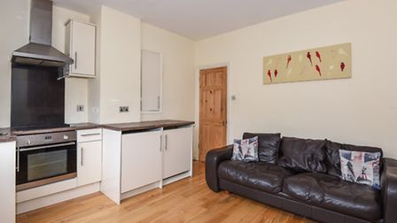 The first floor apartment near Regent's Park is decorated in a modern style, with a double bedroom,
