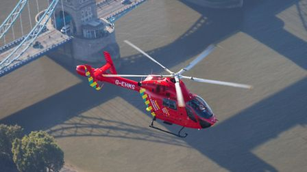 The London Air Ambulance has acquired a second helicopter Photo: John Le Ray