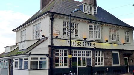 Princess of Wales pub in Lea Bridge Road, Hackney, near the towpath where Chris encountered the gang